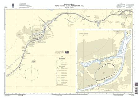 BSH 1720 Nord-Ostsee-Kanal, nördlicher Teil