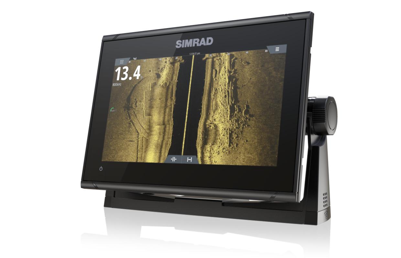 Simrad GO9 XSE Kartenplotter mit Active-Imaging Transducer