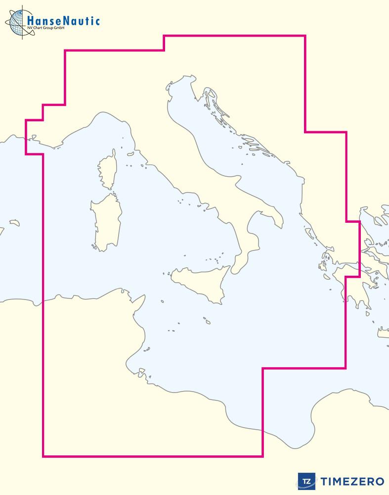 Mapmedia WRMEM33MAP mm3d Rasterkarte