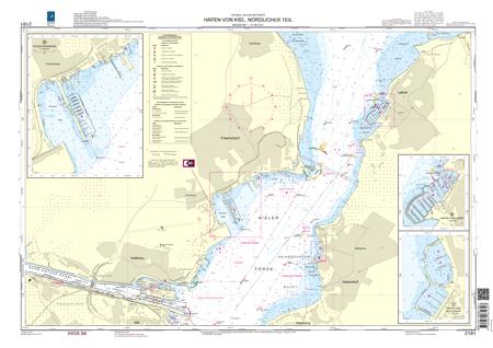 BSH 2181 Häfen von Kiel, nördlicher Teil