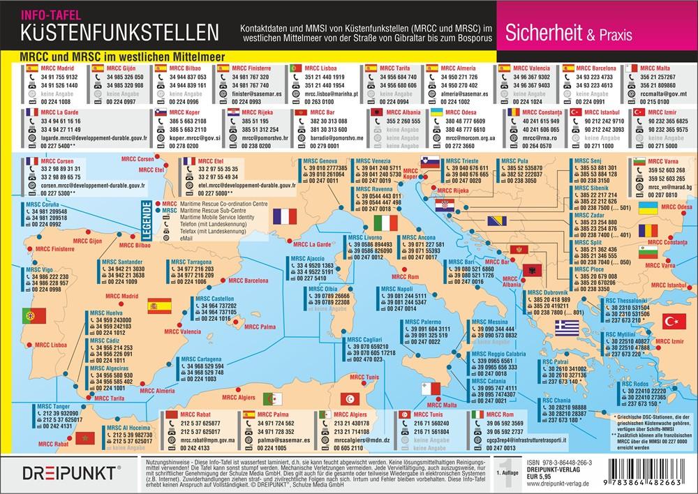 Küstenfunkstellen Westliches Mittelmeer