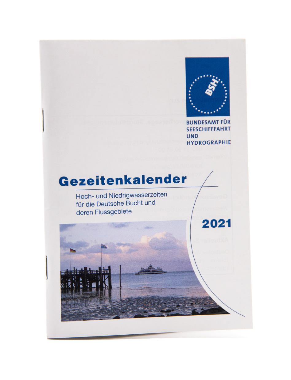 Gezeitenkalender 2021