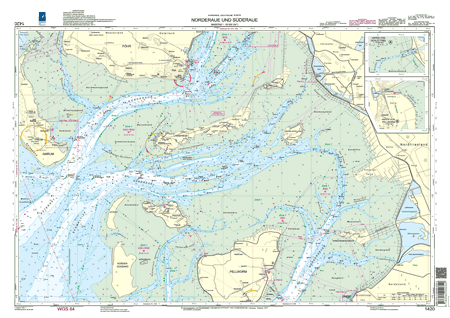 BSH 1420 Norderaue und Süderaue