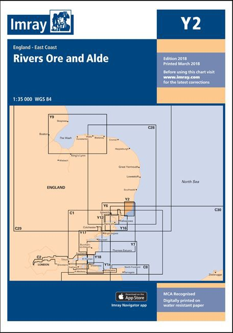 IMRAY CHART Y 2 Rivers Ore and Alde