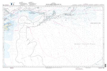BSH 1700 Weddellmeer, nördlicher Teil