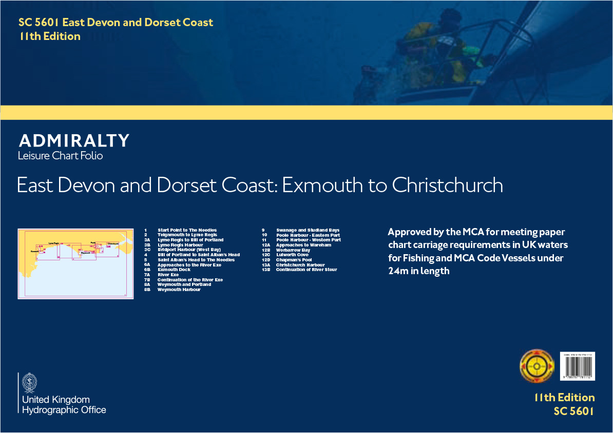SC5601 East Devon and Dorset Coast, Exmouth to Christchurch