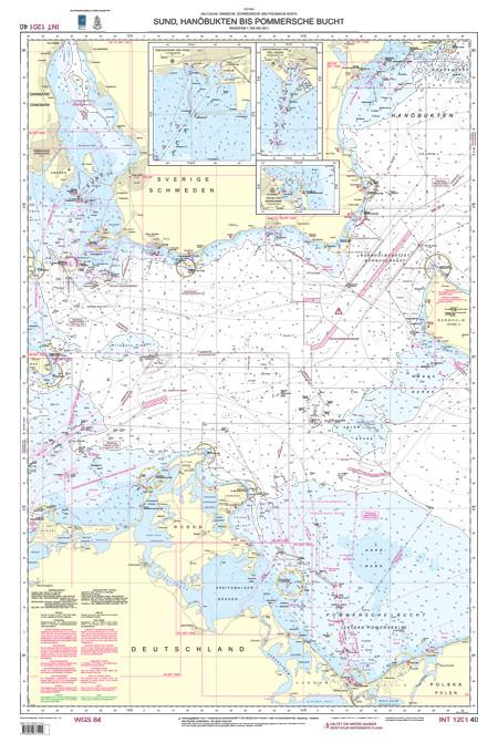 BSH 40 Sund, Hanöbukten bis Pommersche Bucht