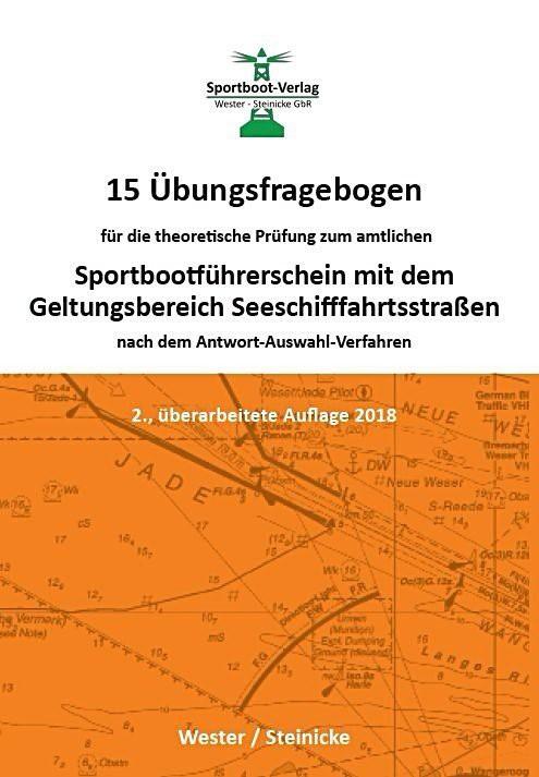 Fragebogen-Satz Sportbootführerschein See (SBF See)