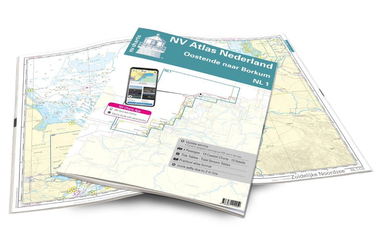 NV Atlas Nederland NL1 - Borkum naar Oostende