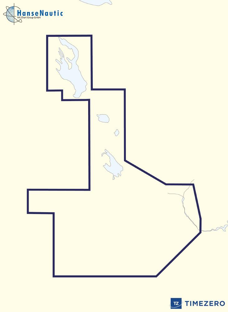 MapMedia C-Map MegaWide Vector Chart:MWVJRSM219MAP Moskva, Oka, Volga and Onezhskoe Lake