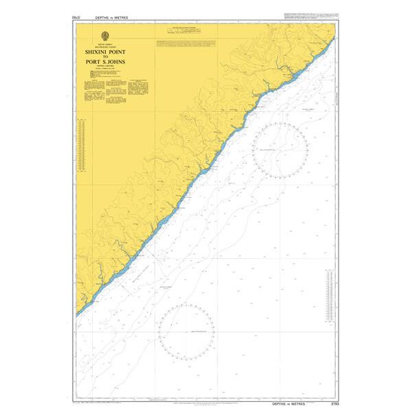 Shixini Point to Port S. Johns. UKHO3793