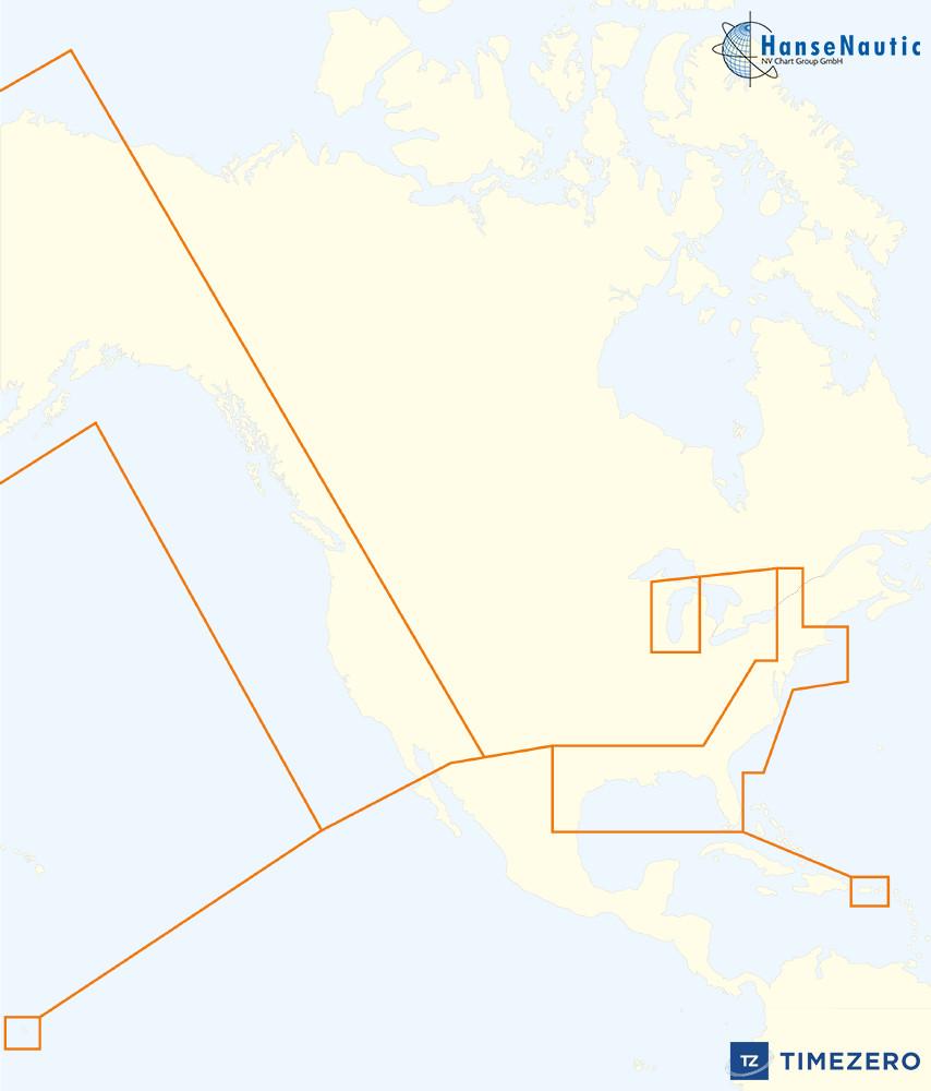 Mapmedia MWRUSAMAP mm3d Rasterkarte (NOAA)