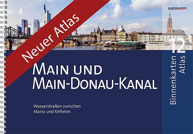 Binnenkarten Atlas 12 - Main und Main-Donau-Kanal
