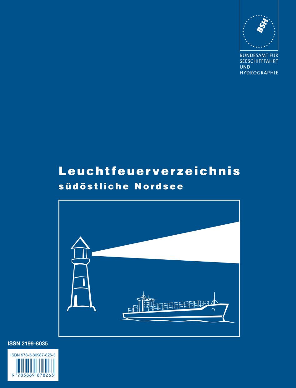 Leuchtfeuerverzeichnis Nordsee, südöstlicher Teil (BSH)