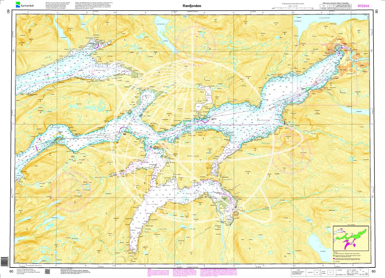 Norwegen N 60 Atlantik vom Ranfjord