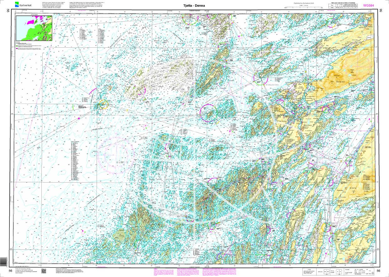 Norwegen N 56 Atlantik von Tjøtta bis Dønna