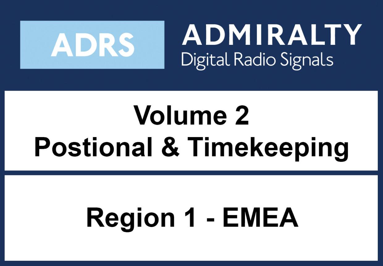 ADMIRALTY Digital List of Radio Signals 2 - Area 1 Europe, MiddleEast, Africa, India