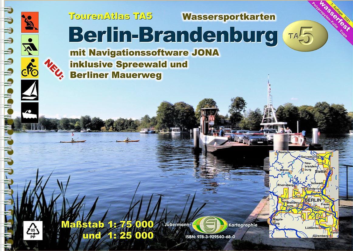 TourenAtlas TA5: Berlin-Brandenburg