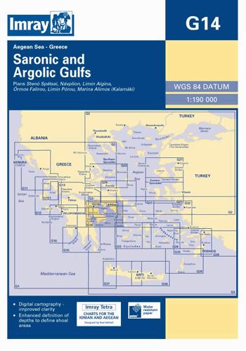 IMRAY CHART G14 Saronic and Argolic Gulfs
