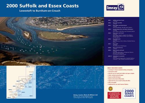 IMRAY 2000 Suffolk and Essex Chart Atlas