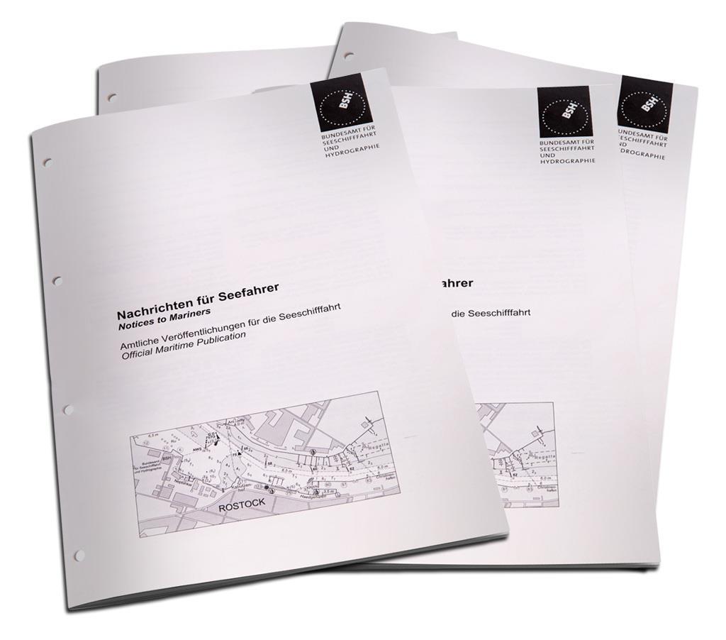 Nachrichten für Seefahrer (NfS) BSH -gedruckt- Jahresbeitrag