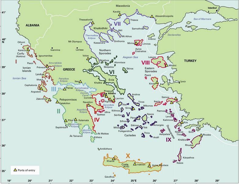 Greek Waters Pilot