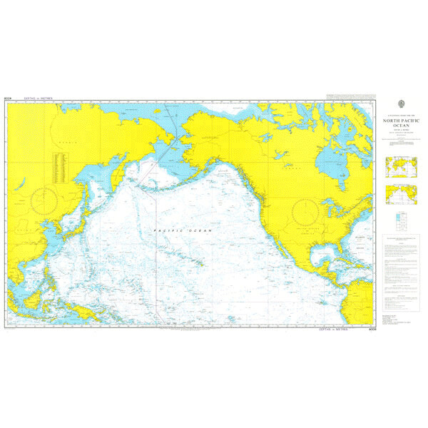 A Planning Chart for the North Pacific Ocean. UKHO4008