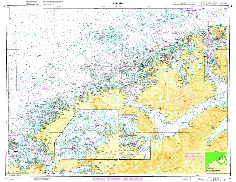 Norwegen N 35 Atlantik Hustadvika