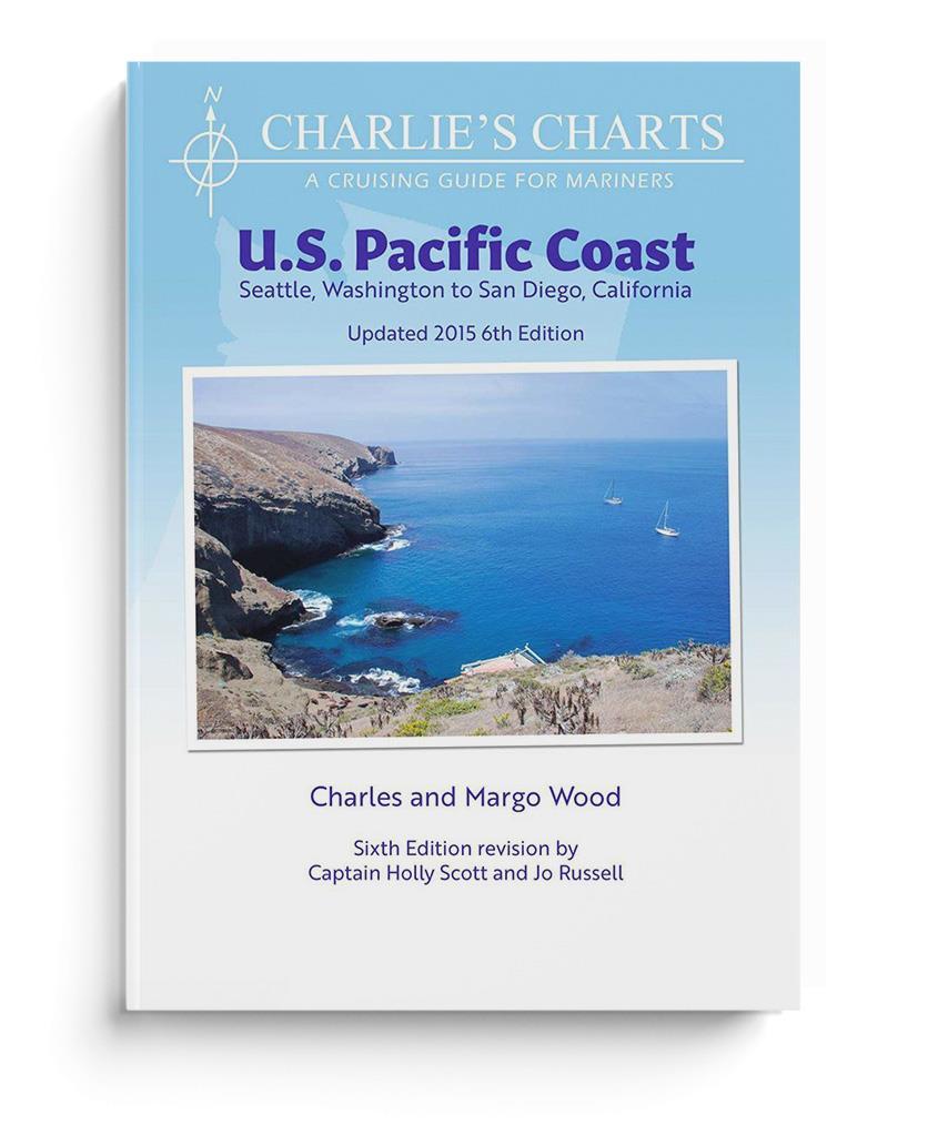 Charlie's Charts US Pacific Coast