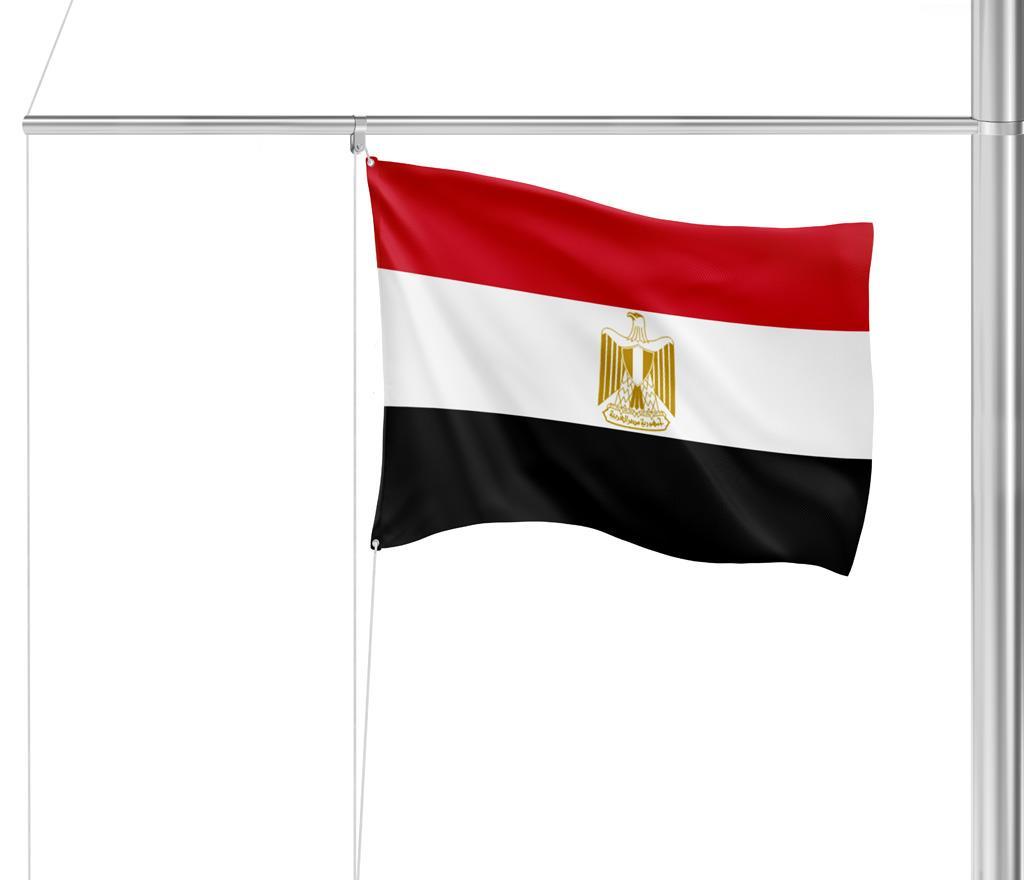 Flagge Ägypten