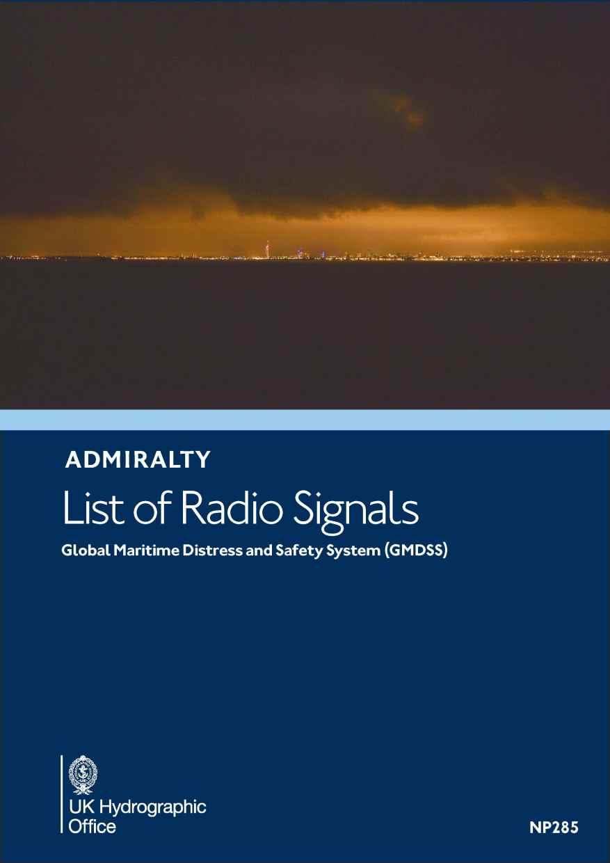ADMIRALTY NP285 RadioSignals - GMDSS