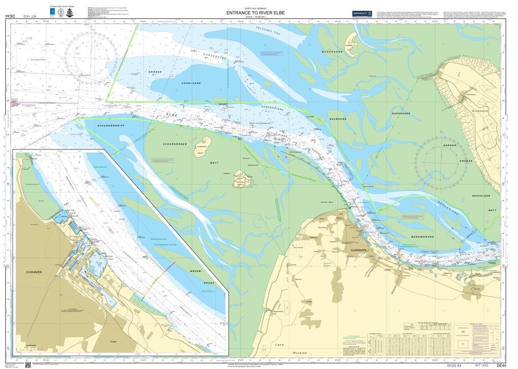 DE44 Elbmündung (Entrace to River Elbe)