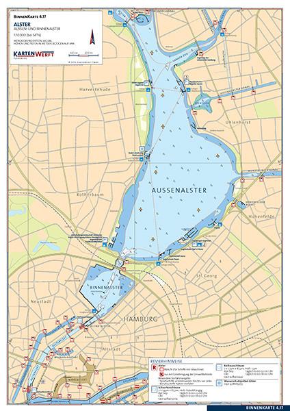 Binnenkarte - Alster/Ilmenau