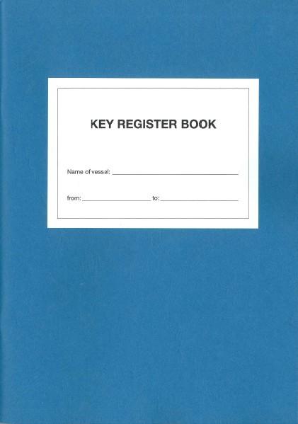 Key Register Book