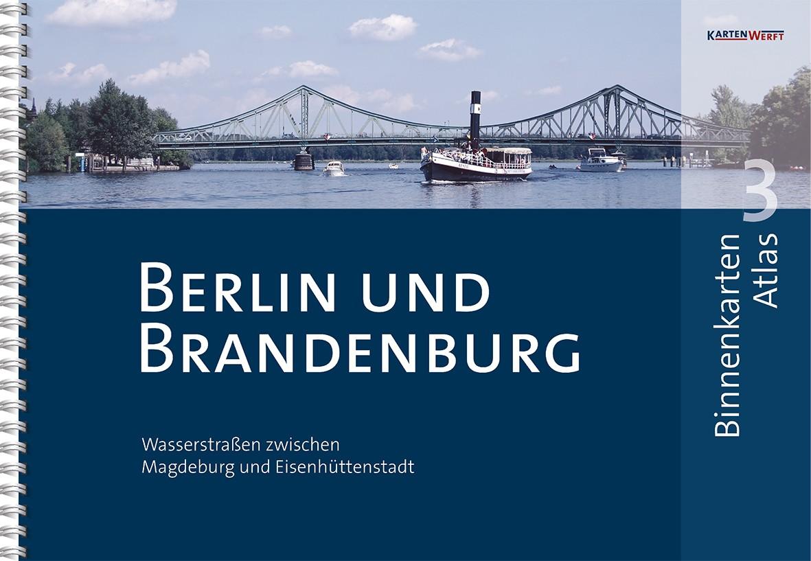 Binnenkarten Atlas 3 - Berlin und Brandenburg