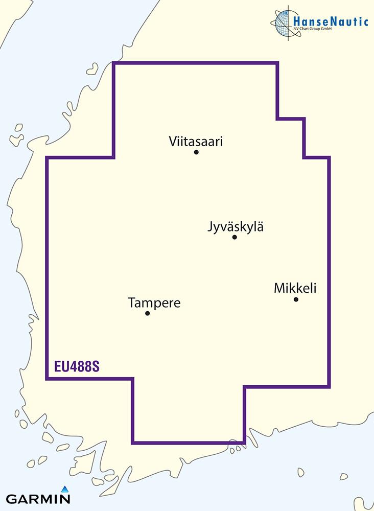 BlueChart Finnland Binnengewässer (Keitele-Paijanne-Tampere) g3 Vision VEU488S