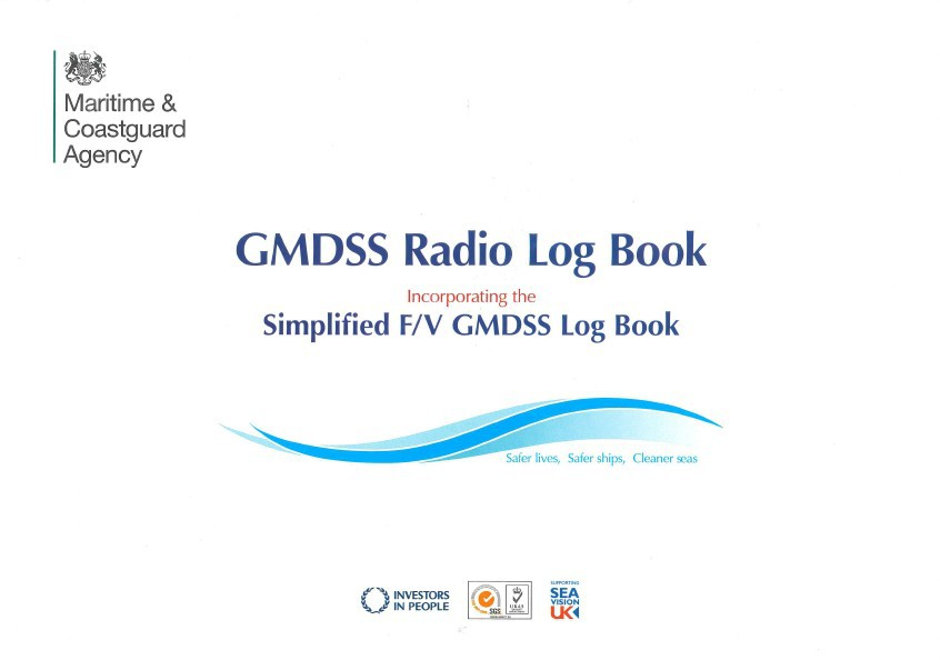 GMDSS Radio Logbook (MCA)