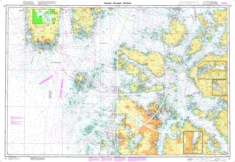 Norwegen N 16 Südwestküste Tananger - Stavanger - Skudenes