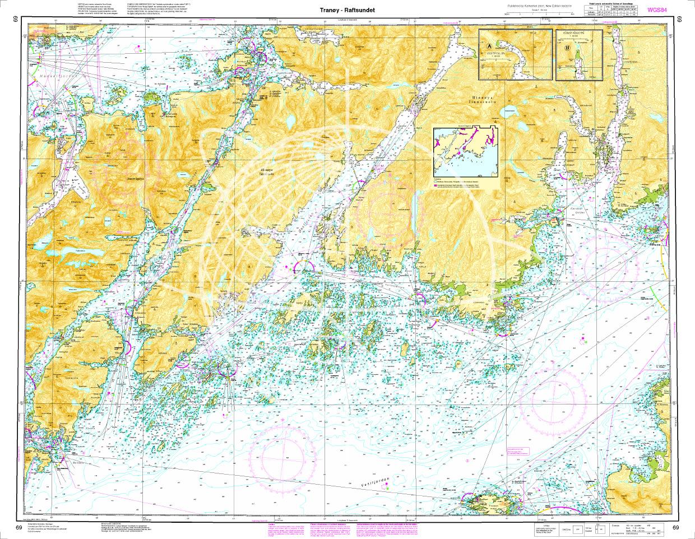 Norwegen N 69 Lofoten Tranoey - Raftsunde
