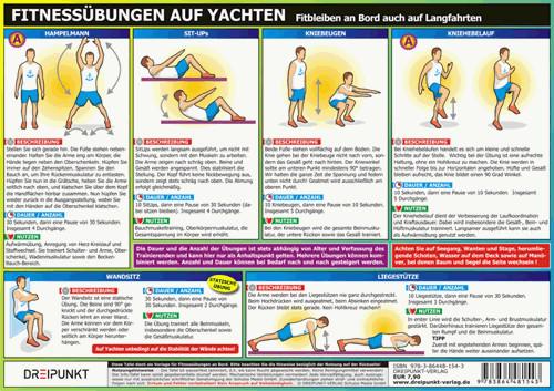 Fitnessübungen auf Yachten