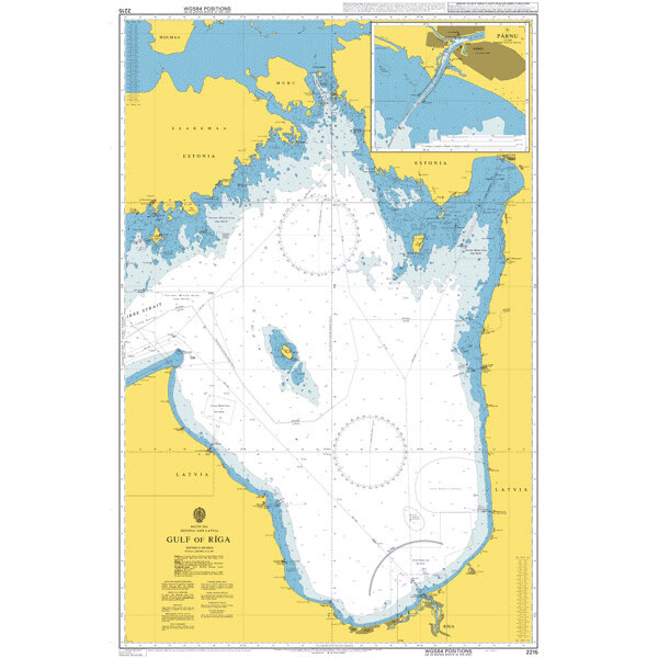 Gulf of Riga. UKHO2215