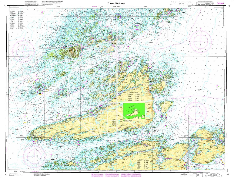 Norwegen N 41 Atlantik von Frøya bis Gjæsingen