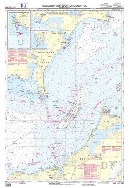 BSH 163 Mecklenburger Bucht, östlicher Teil