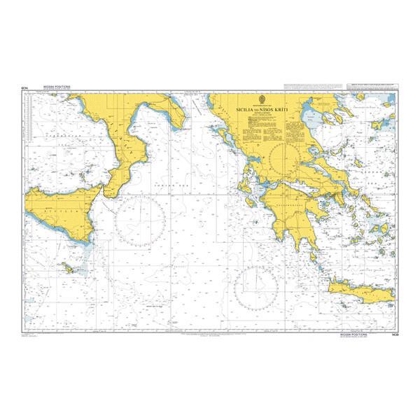 Sicilia to Nisos Kriti. UKHO1439