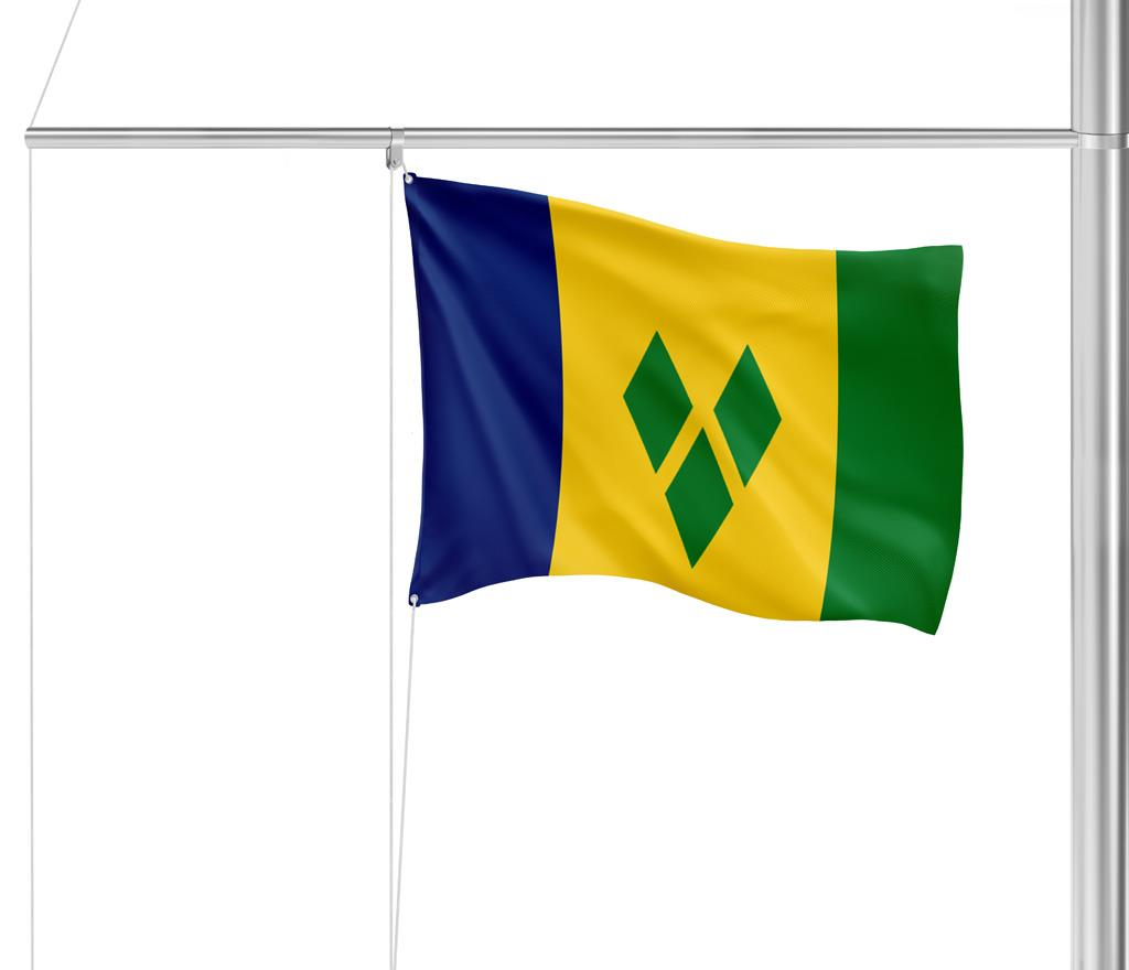 Flagge St. Vincent & the Grenadines