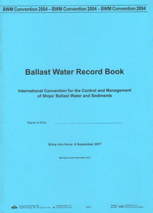Ballast Water Record Book