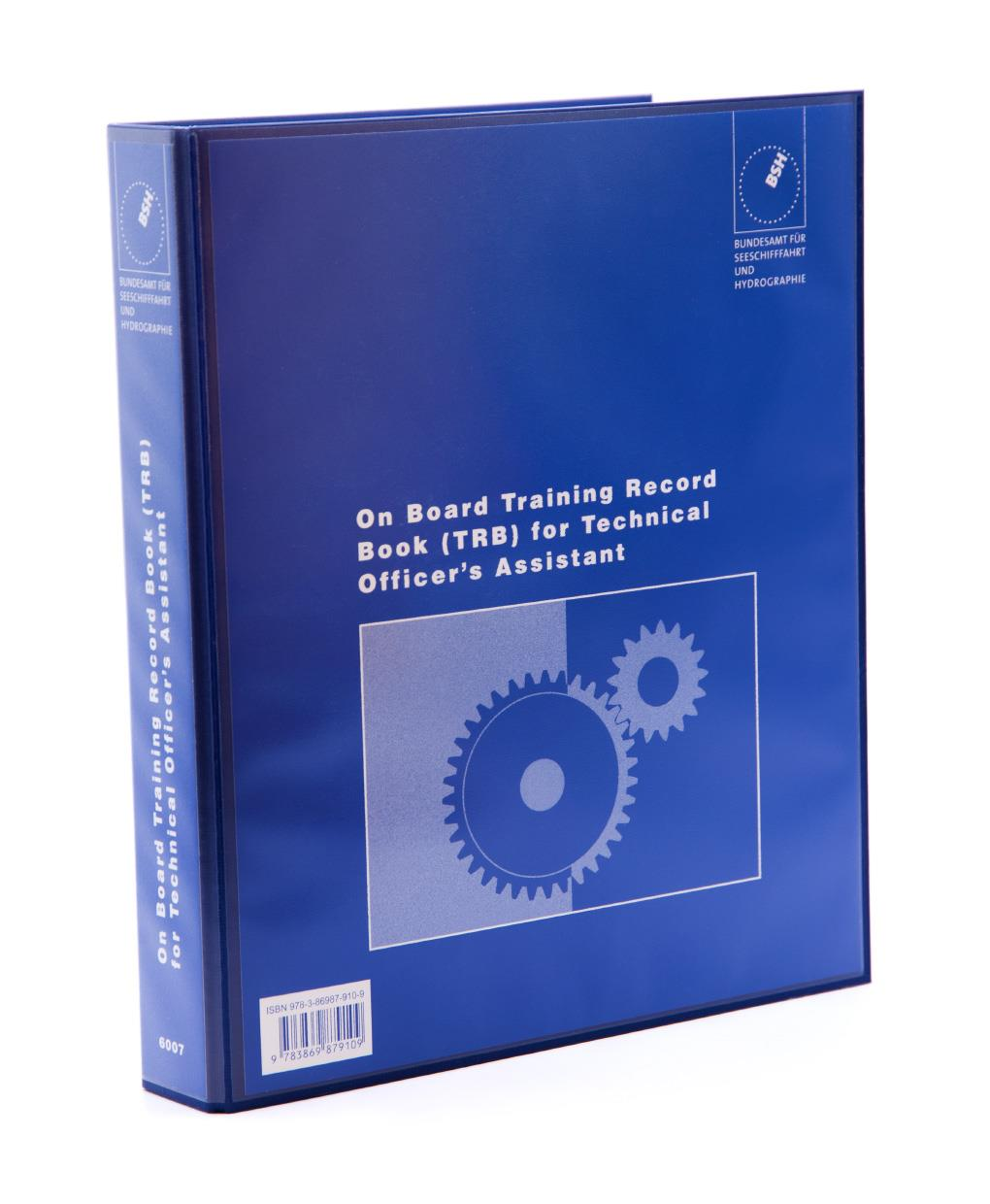 On Board Training Record Book for Technical Officer's Assistant