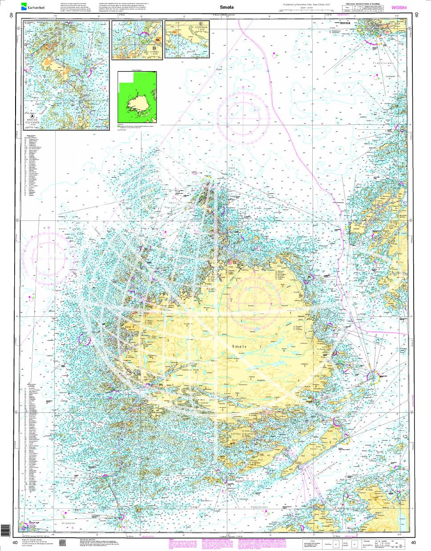Norwegen N 40 Atlantik Smøla