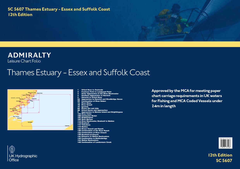 SC5607 Thames Estuary, Essex and Suffolk Coast