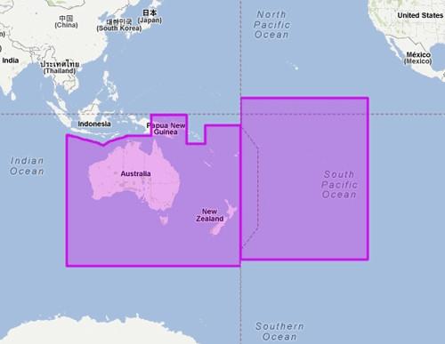 Mapmedia MWVJAUM007MAP mm3d C-MAP by Jeppesen